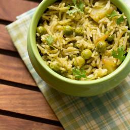 coriander rice recipe | cilantro rice
