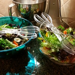 Cori Feldman's Salad with Homemade Dressing
