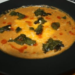 Corn and Roasted Poblano Soup