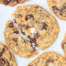 Corn Flake Coconut Chocolate Chip Cookies