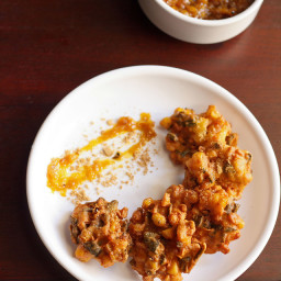 corn pakora | corn fritters - makes 12-15 medium pakoras