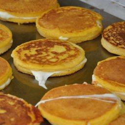 Corn Pancake Sandwiches Arepas de Choclo