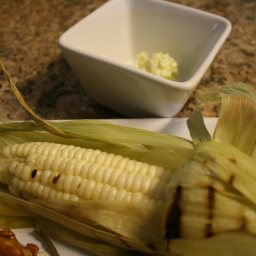 Corn with Seasoned Butters