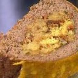 Cornbread Stuffed Meatloaf
