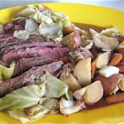 Corned Beef and Cabbage Dinner