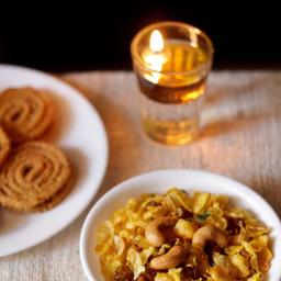 cornflakes chivda recipe | makai chivda recipe
