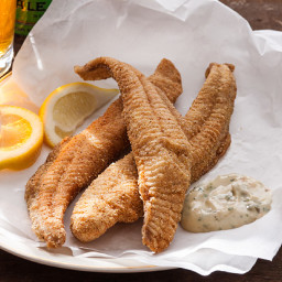 Cornmeal Fried Catfish with Rémoulade