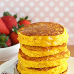 Cornmeal Pancakes (Gluten-Free)