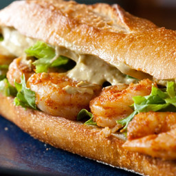 Cosi Pasilla Lime Shrimp Sandwich