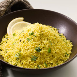 Couscous with Fresh Cilantro and Lemon Juice