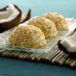 Crème Fraiche Coconut Bavarians
