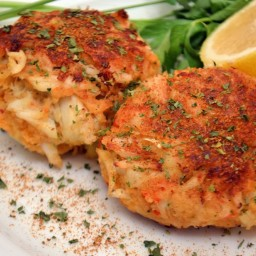 Cracker-Coated Crab Cakes