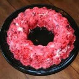 Cranberry Cream Mold