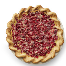 Cranberry Custard Pie