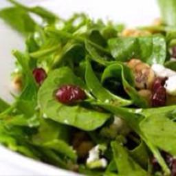Cranberry, Feta and Walnut Salad