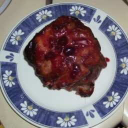 Cranberry-glazed Roast Pork