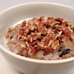Cranberry Quinoa Breakfast Cereal