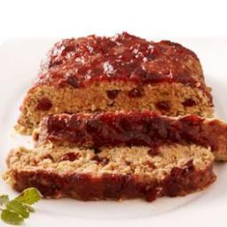 Cranberry-Turkey Meatloaf