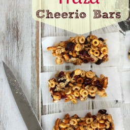 Cranberry Pretzel Cheerio Bars Recipe