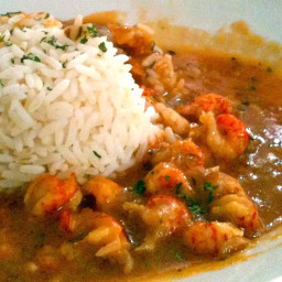 Crawfish Étouffée (Louisiana Entertains)