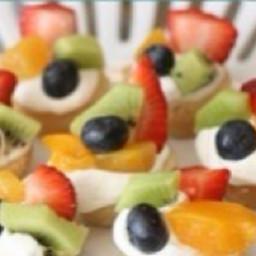 Cream Cheese Fruit Basket