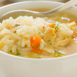 Cream of Chicken and Rice Soup (crock pot)