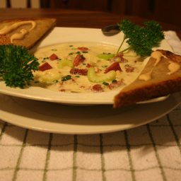 Cream of Ruben Soup