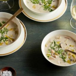 Cream of Wild Mushroom Soup (Ina Garten)