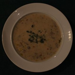 Cream Of Wild Mushroom Soup