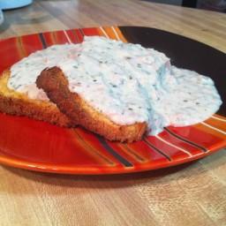 Cream Tuna on Toast