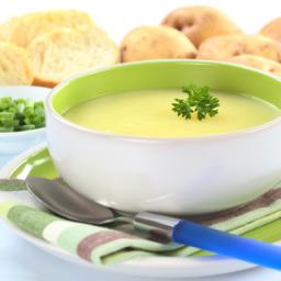 Cream of Potato and Leek Soup