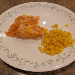 Creamy Chicken with Doritos Cassarole