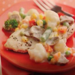 Creamy Chicken with Veggies