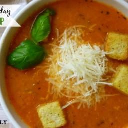 Creamy Crock Pot Tomato Soup