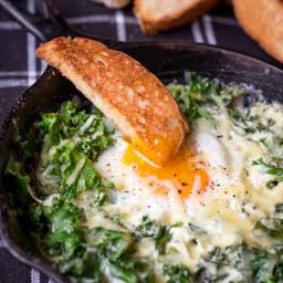 Creamy Egg Breakfast