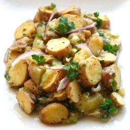 Creamy Fingerling Potato Salad (Vegan)