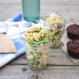 Creamy Italian Herb Pasta Salad - Perfect for a Picnic!
