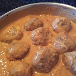 Creamy Italian Meatballs