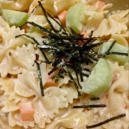 Creamy Mentaiko Pasta Salad