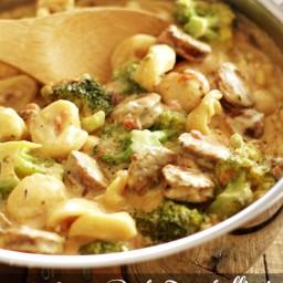 Creamy One-Pot Tortellini