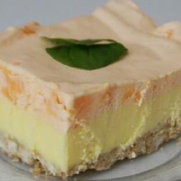 Creamy Orange Dream Pie