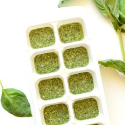 Creamy Parmesan Pesto Cubes