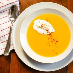 Creamy Spiced Parsnip Soup