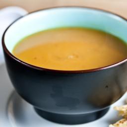 Creamy Sweet Potato and Chipotle Soup