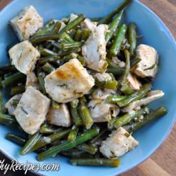Creamy Tarragon Chicken and Green Beans