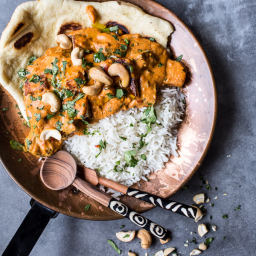 Creamy Cashew Indian Butter Paneer...with Fried Paneer!