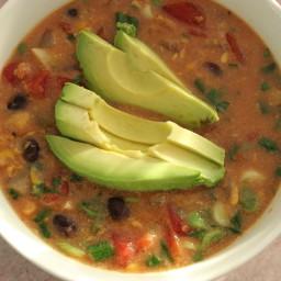 Creamy Corn Salsa Soup