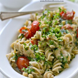 Creamy Pasta with Kale