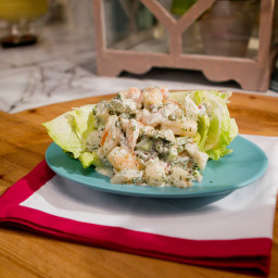 Creamy Shrimp and Dill Salad
