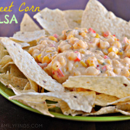 Creamy Sweet Corn Salsa Recipe